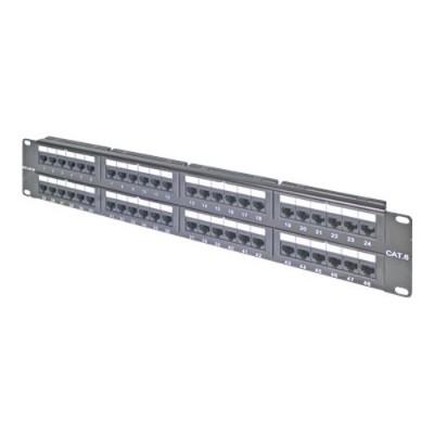 Belkin F4P638-48-AB5 Patch panel - black - 48 ports
