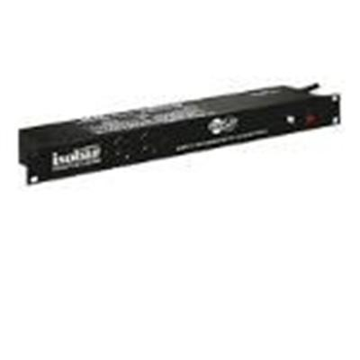 TrippLite ISOBAR12ULTRA Isobar Surge Protector Rackmount Metal 12 Outlet 15' Cord 1U RM - Surge protector (rack-mountable) - AC 120 V - output connectors: 12 -