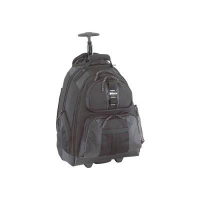 "Targus TSB700 15.4"" Rolling Laptop Backpack - Black"