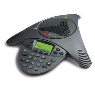Polycom 2200-07300-001 SoundStation VTX 1000 Conference Phone (no EX mics or subwoofer)