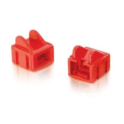 Cables To Go 07879 Network cable boots - red (pack of 25)