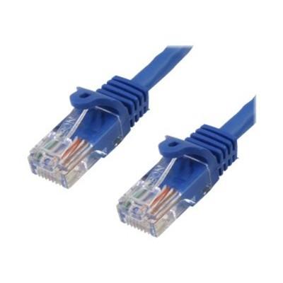 StarTech.com RJ45PATCH10 10 ft Cat5e Blue Snagless RJ45 UTP Cat 5e Patch Cable - 10ft Patch Cord - 10ft Snagless Patch Cable