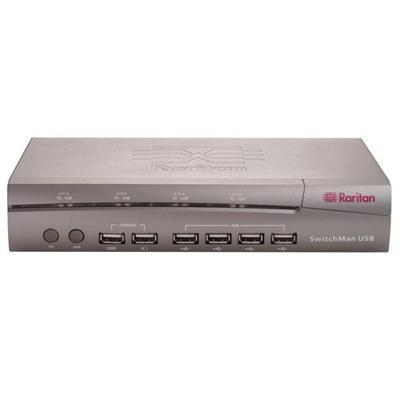 SwitchMan SW4-USB - KVM / audio / USB switch - 4 ports - desktop