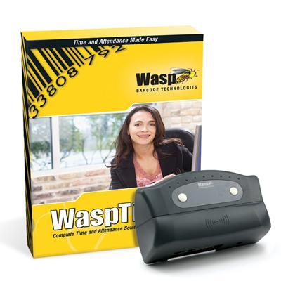 Wasp 633808550028 Time Standard Rfid Solution Box Pack 1 Administrator  50 Employees Cd Win With 50 Rfid Badges / Rfid Employee Time Clock / 2 Etherne