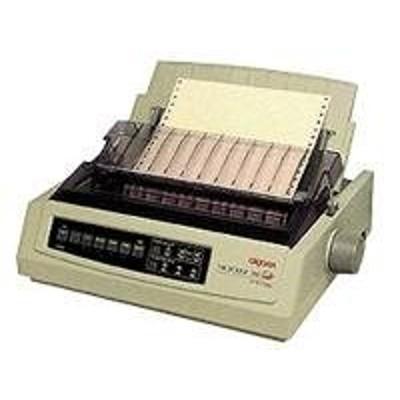 Oki 62416001 Microline 391 Turbo/n - Printer - monochrome - dot-matrix - Roll (16 in) - 360 dpi - 24 pin - up to 390 char/sec - parallel  LAN