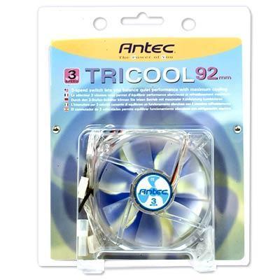 Antec TRICOOL 92MM TriCool 3 Speed 92mm Fan