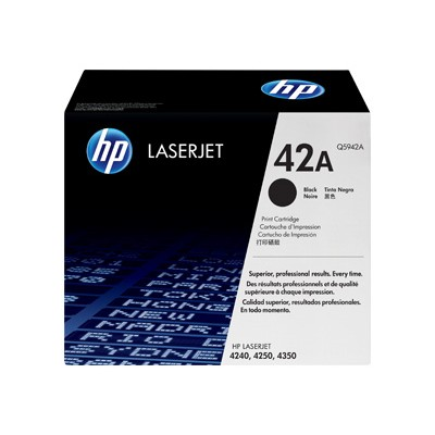 LaserJet Q5942A Black Print Cartridge