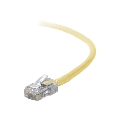 Belkin A3L791-02-YLW Patch cable - RJ-45 (M) to RJ-45 (M) - 2 ft - UTP - CAT 5e - stranded - yellow - B2B - for Omniview SMB 1x16  SMB 1x8  OmniView IP 5000HQ