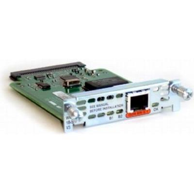 Buy 1-Port ISDN WAN Interface Card (for Cisco 1700  1800  2600  2800  3600  3700  AND 3800 Series)