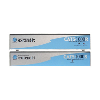 ex-tend-it CAT5-1000 - KVM / audio / USB extender