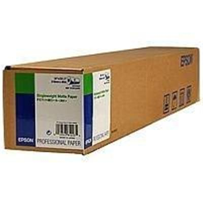 Epson S041853 24 x 131.7' Singleweight Matte Paper  1 Roll