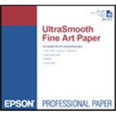 Epson S041897 17 x 22 UltraSmooth Fine Art Paper - 25 Sheets