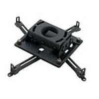 Chief RPAU - Mounting kit ( ceiling mount  bracket ) for projector - steel - black - ceiling mountable