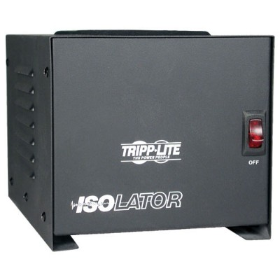 TrippLite IS1000 Isolator Series 120V 1000W Isolation Transformer-Based Power Conditioner  4 Outlets