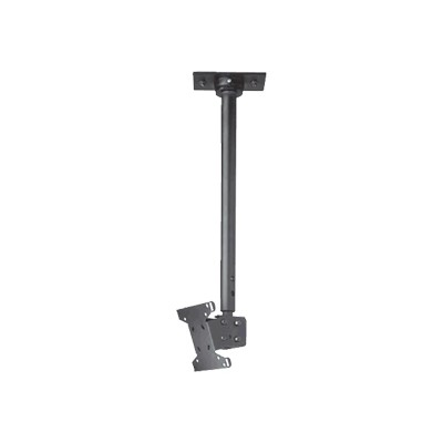 Peerless LCC-36 LCD Ceiling Mount with 36-48 Adjustable Length for 13-29 Screen-Black