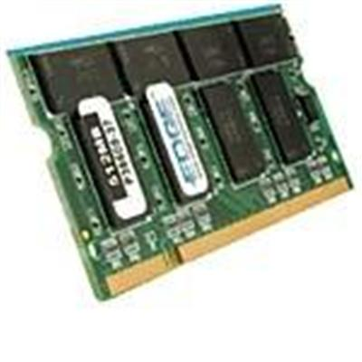 Edge Memory PE199906 1GB PC2-4200 533MHz 200-pin Non-ECC Unbuffered DDR2 SDRAM SODIMM