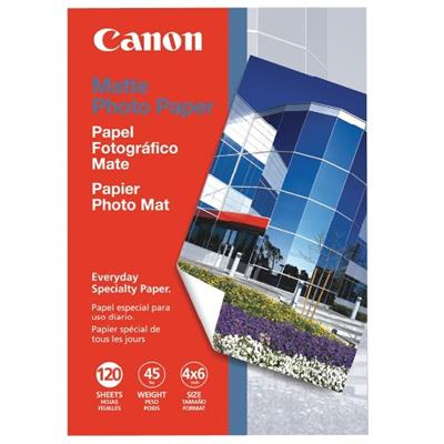 Canon 7981A014 4 x 6 Matte Photo Paper - 120 Sheets