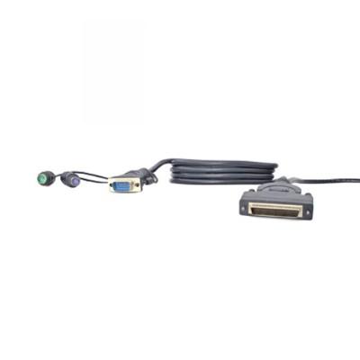 Belkin F1D9400-06 OmniView Dual-Port Cable - VGA & PS/2  6ft