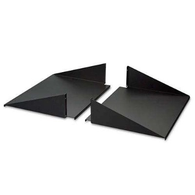 "Belkin Double-Sided 2-Post Shelves 30"" Depth - Rack shelf - black - 19"" (pack of 2 )"