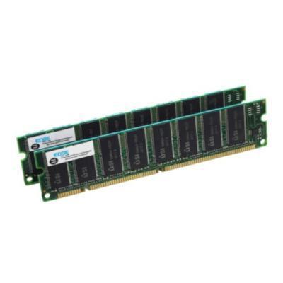 Edge Memory PE15230702 2GB (2X1GB) 100MHz SDRAM DIMM 168-pin ECC Memory Module