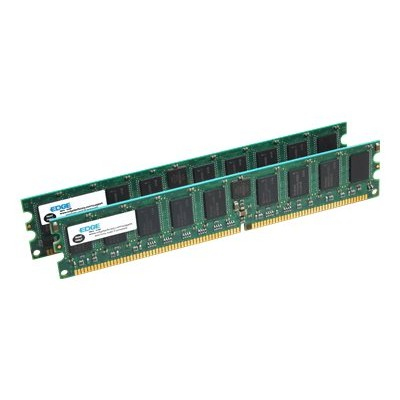Edge Memory PE18245802 2GB - 2 x 1GB - PC2100 266MHz 184-pin Registered ECC DDR SDRAM DIMM Kit