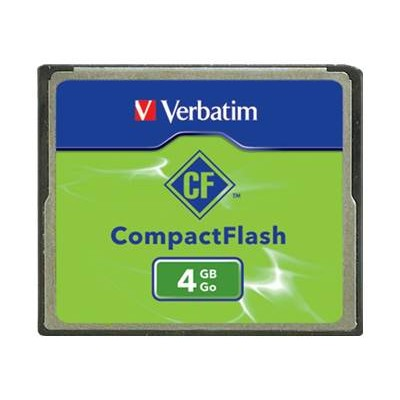 Verbatim 95188 Compact Flash Memory Card 4GB