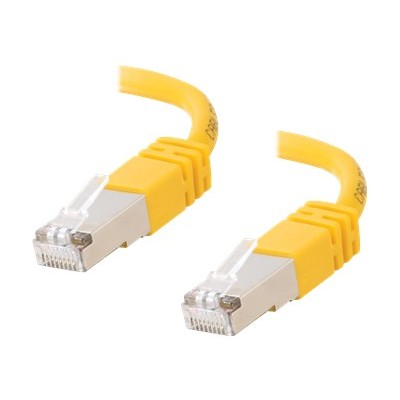 Cables To Go 27268 Cat5e Molded Shielded (STP) Network Patch Cable - Patch cable - RJ-45 (M) to RJ-45 (M) - 25 ft - STP - CAT 5e - molded  stranded - yellow