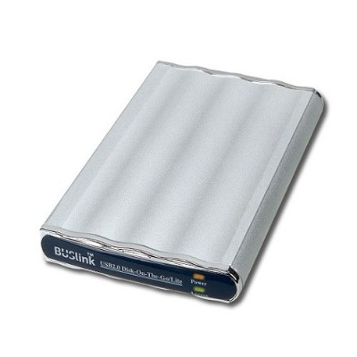 Buslink Media DL-80-U2 Disk-On-the-Go-Lite USB 2.0 Ultra Slim - Hard drive - 80 GB