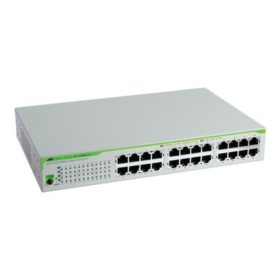 24 Port 10/100/1000T Unmanaged Switch with Internal Power Supply