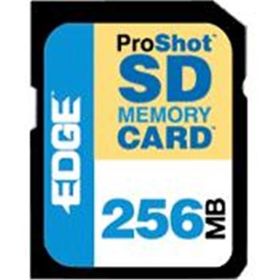 Edge Memory PE200510 256MB ProShot 60x Secure Digital (SD) Card