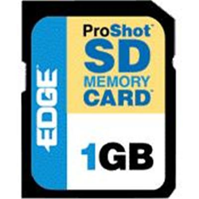 Edge Memory PE200534 1GB ProShot 60x Secure Digital (SD) Card