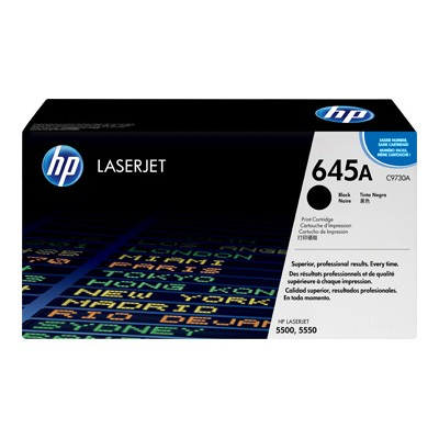 Color LaserJet C9730A Black Print Cartridge