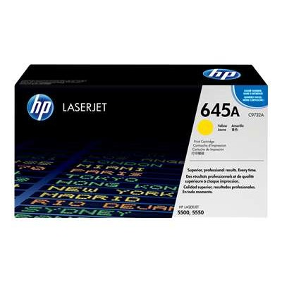 HP Inc. C9732A Color LaserJet C9732A Yellow Print Cartridge