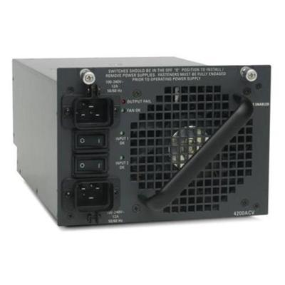 Cisco PWR-C45-4200ACV= 4200 WACV - Power supply (plug-in module) - AC 110/200 V - 4200 Watt - for Catalyst 4503  4506  4507R  4510R