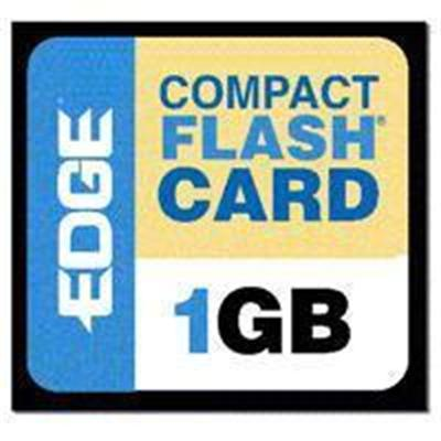 Edge Memory PE188993 1GB Premium CompactFlash card