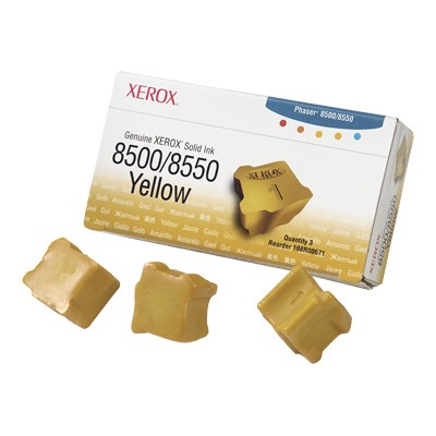 Xerox 108R00671 Yellow Solid Ink for Phaser 8500/8550 - 3 Sticks