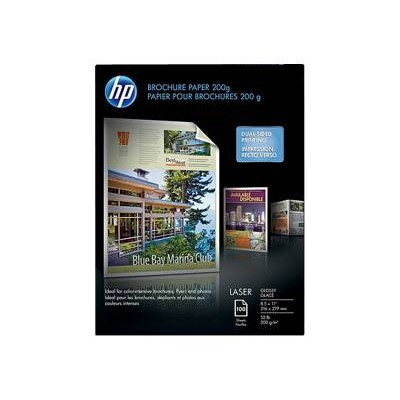 HP Inc. Q6608A Laser Glossy Photo Paper 220 gsm-100 sht/Letter/8.5 x 11 in