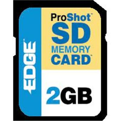 Edge Memory PE201265 2GB ProShot 130x Secure Digital (SD) Card