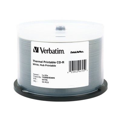 Verbatim 94795 DataLifePlus 700MB ( 50 Pack ) CD-R