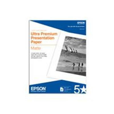Epson S041908 For photographers seeking a flat matte surface  EPSON Enhanced Matte Paper is the ideal choice.