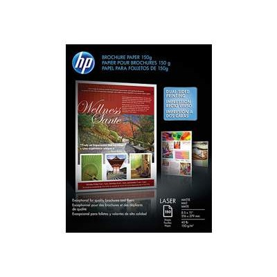 HP Inc. Q6543A Laser Matte Brochure Paper - 8.5 x 11 (150 sheets)