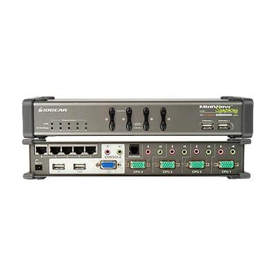Iogear GCS1774 Miniview Symphony Multi-function 4-Port KVM Switch