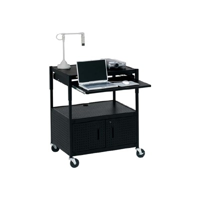 Bretford Manufacturing Ecils3ff-bk Interactive Learning Center Ecils3ff-bk - Cart For Projector - Black - Floor-standing