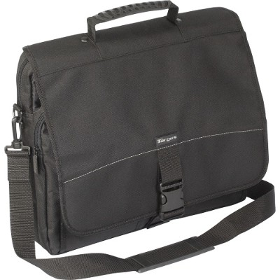 "Targus TCM004US 15.6"" Messenger Laptop Case - Black"