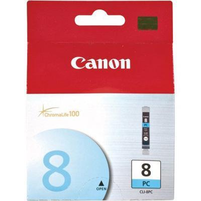 Canon CLI-8PC CLI-8PC - Photo cyan - original - ink tank - for PIXMA iP6600D  iP6700D  MP950  MP960  MP970  Pro9000  Pro9000 Mark II