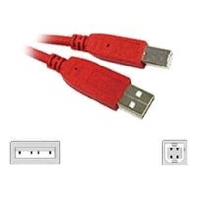 Cables To Go 35677 3m USB 2.0 A/B Cable Red