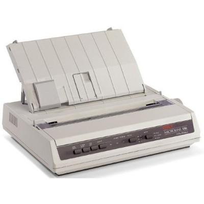 Oki 91306301 MICROLINE 186 9-Pin Parallel/USB Dot Matrix Printer - Black