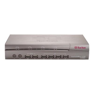 SwitchMan SW4-USB-COMBO - KVM / audio / USB switch - 4 ports - desktop