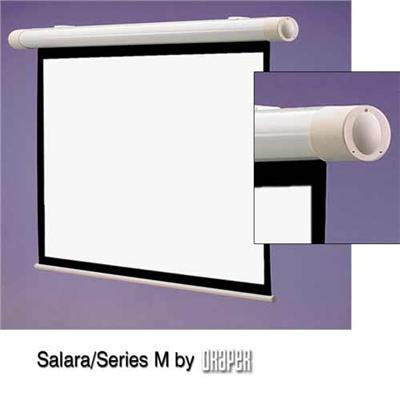 Draper  INC. 137008 100 Salara M Manual Front Projection Screen