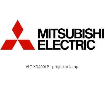 Mitsubishi VLT-XD400LP VLT-XD400LP - Projector lamp -